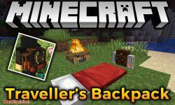 Traveler_s Backpack mod for minecraft logo