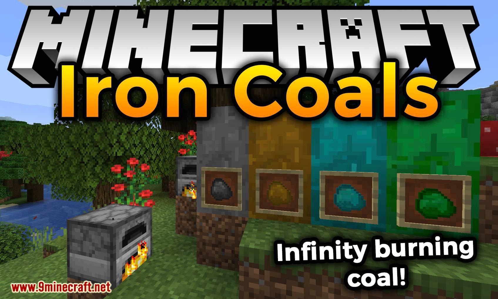 Iron Coals mod for minecraft logo