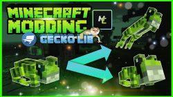 GeckoLib for Minecraft Logo