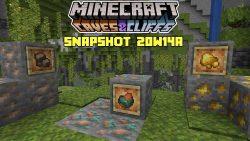 Minecraft 1.17 Snapshot 21w14a
