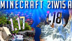 Minecraft 1.17 Snapshot 21w15a