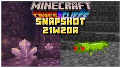 Minecraft 1.17 Snapshot 21w20a