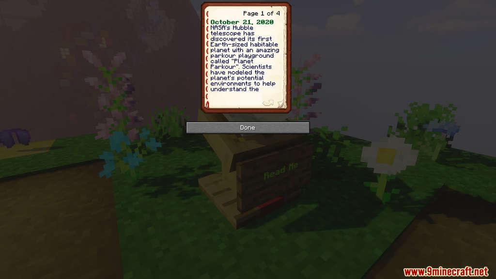 Planet Parkour Map Screenshots 2