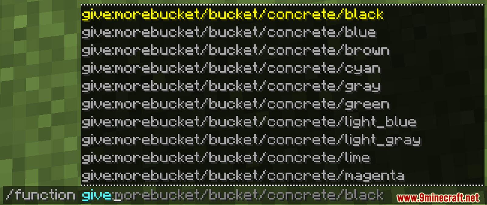 More Buckets Data Pack Screenshots (1)