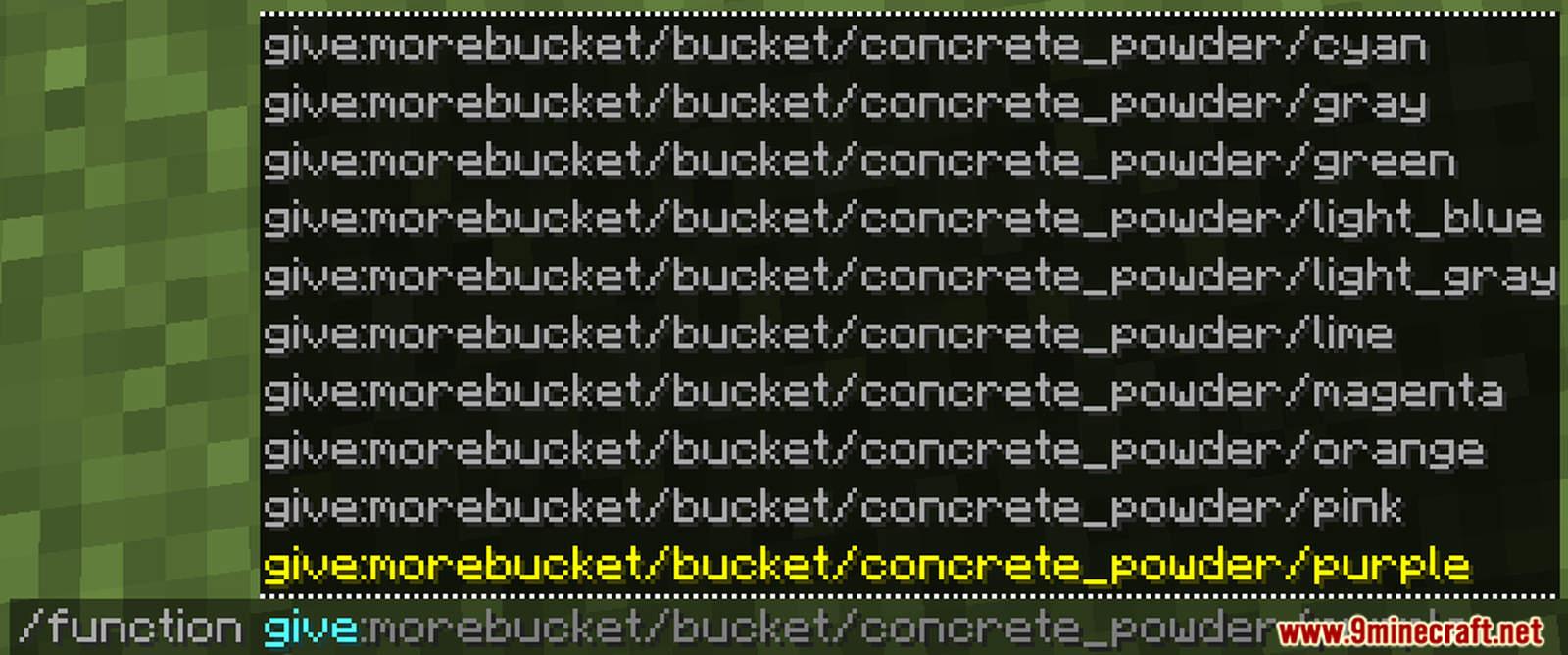 More Buckets Data Pack Screenshots (2)