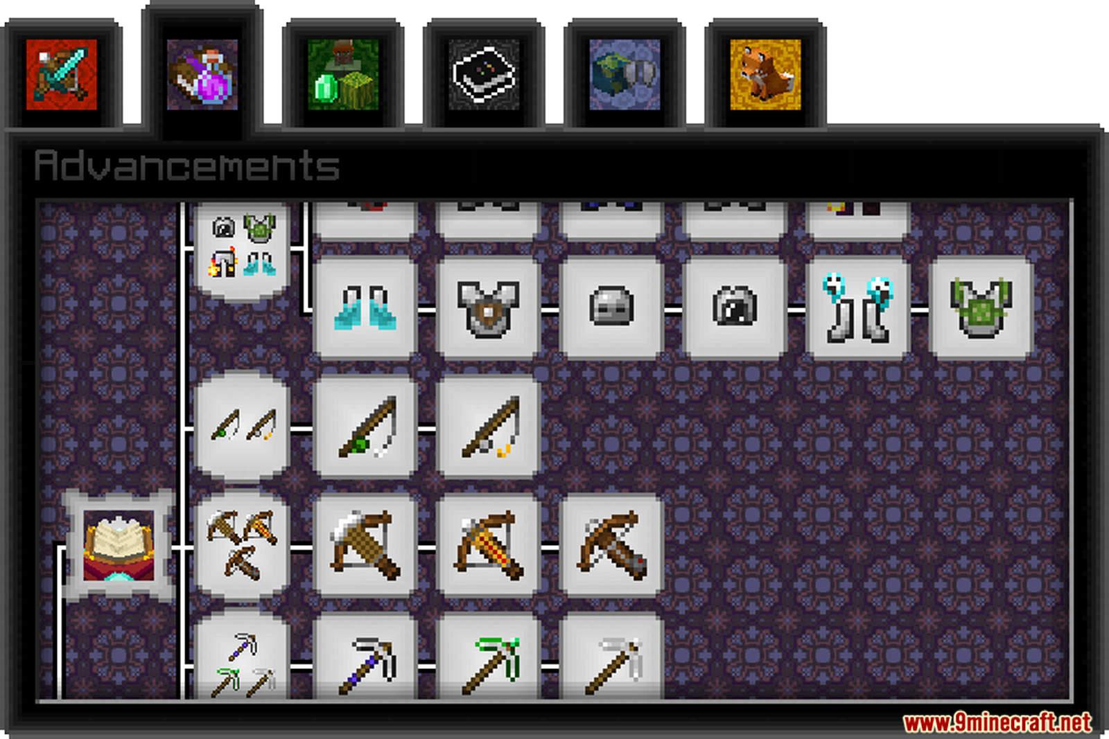 Paint's Completionist Advancements Data Pack Screenshots (8)