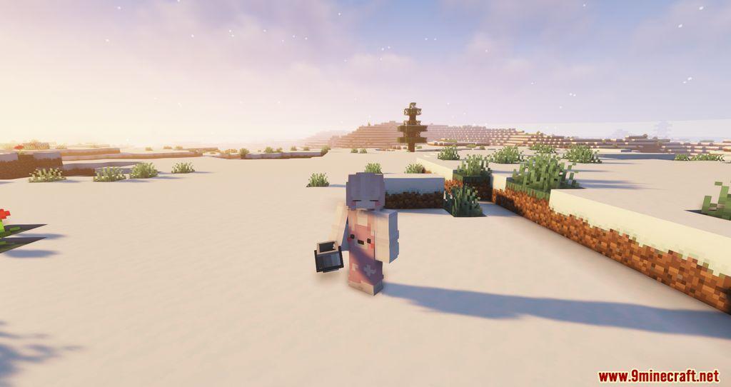 Findrek's 3D Buckets and Fish resourcepacks screenshots 01
