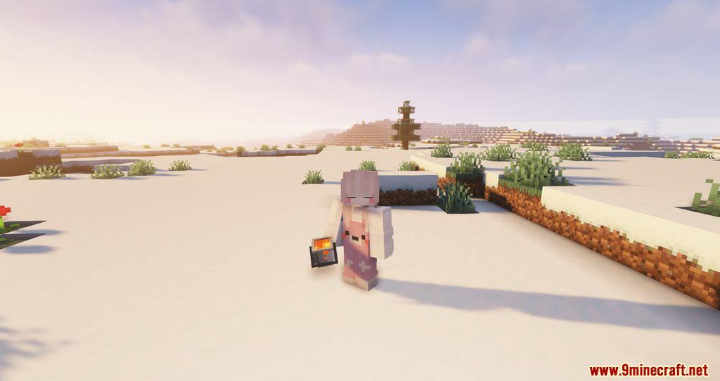 Findrek's 3D Buckets and Fish resourcepacks screenshots 03