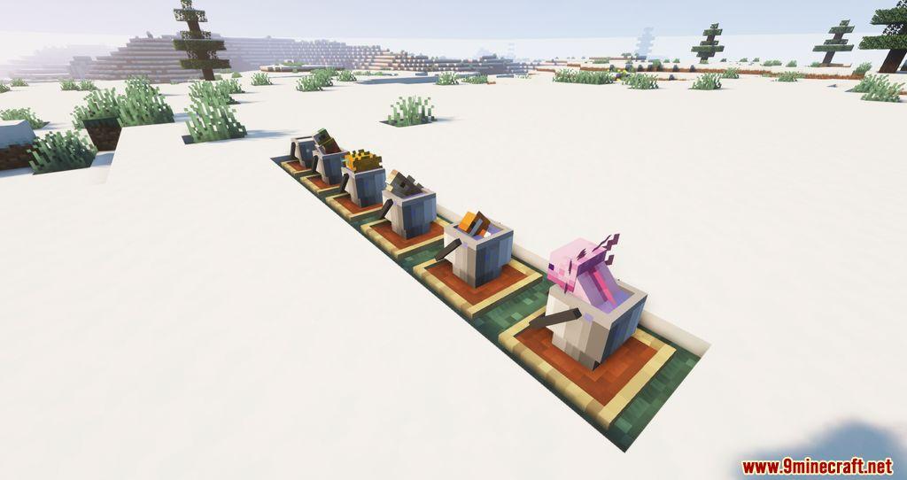 Findrek's 3D Buckets and Fish resourcepacks screenshots 07