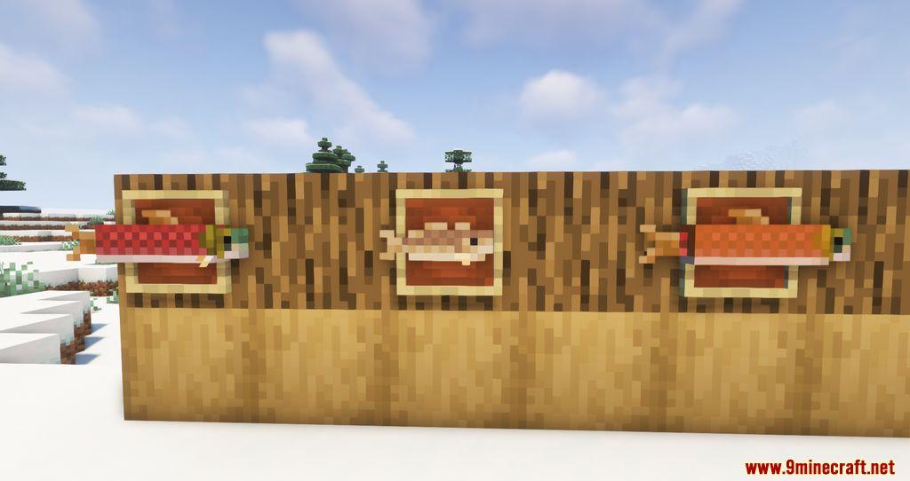 Findrek's 3D Buckets and Fish resourcepacks screenshots 12