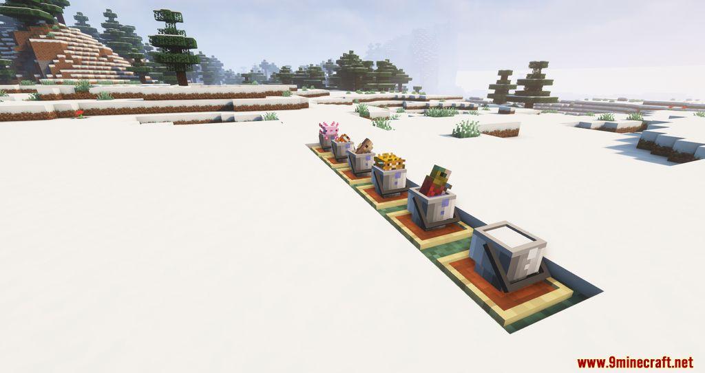 Findrek's 3D Buckets and Fish resourcepacks screenshots 8