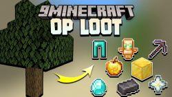 Logs Drop OP Loot Data Pack Thumbnail
