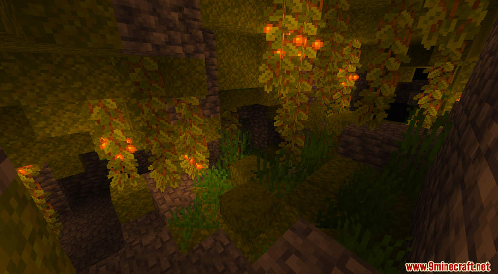 Caves and Cliffs Expansion Pack Caves Biomes Data Pack Screenshots (5)