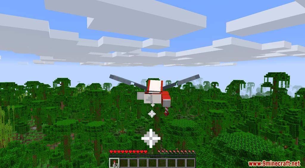 End Above Overworld Data Pack Screenshots (2)