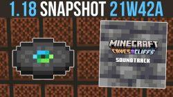 Minecraft 1.18 Snapshot 21w42a