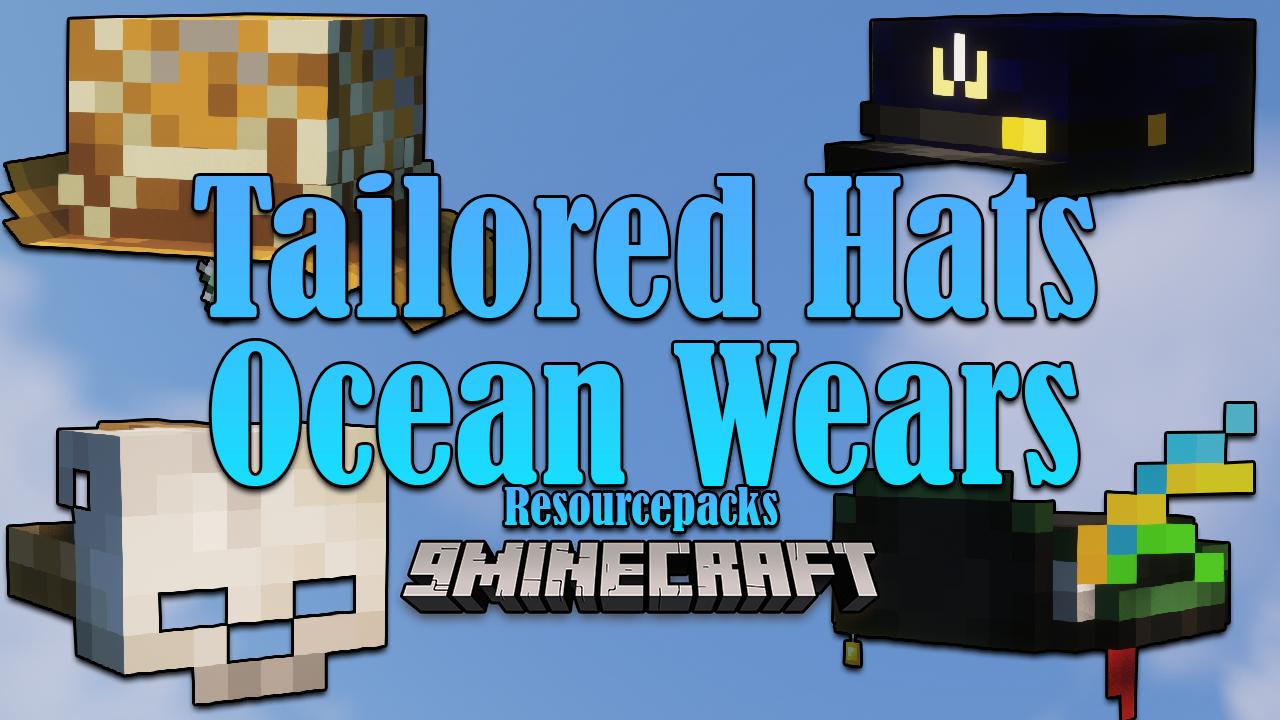 Tailored Hats Ocean Wears resourcepacks thumbnail